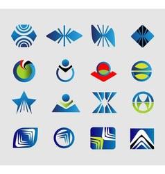 Set of logo or symbols vector