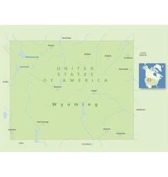 USA Wyoming Small vector