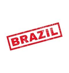 Brazil Rubber Stamp vector