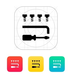 Drone repair kit icon vector image
