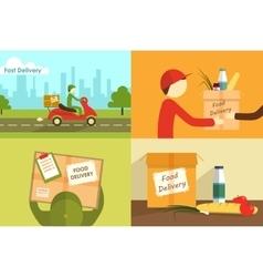 Food delivering vector