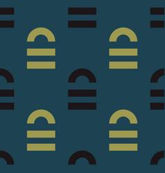 lock open seamless pattern vector image