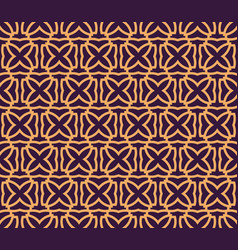 luxury geometric pattern seamless pattern vector image