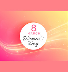 march 8 international womans day celebration vector image