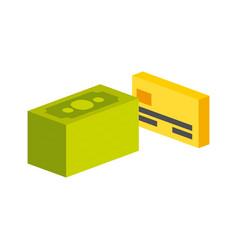Money items design vector