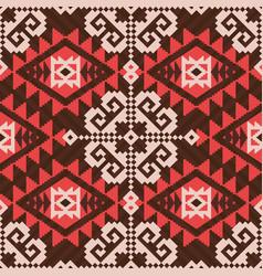 navajo style ethnic pattern vector image