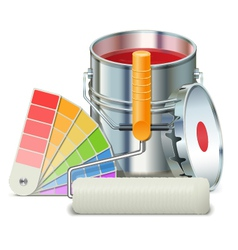 Painting Concept vector image