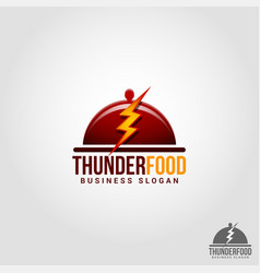thunder food - flash food - professional flash vector image