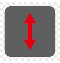 Vertical Flip Rounded Square Button vector