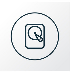 Winchester icon line symbol premium quality vector
