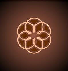 Cotton logo vector image vector image