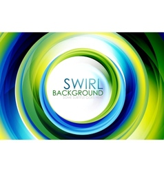 Swirl abstract background vector image