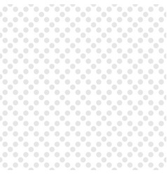 tile pattern with grey polka dots on white vector image vector image