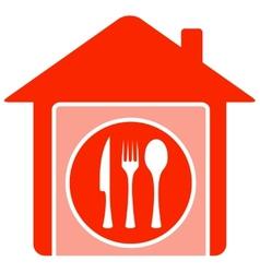 home food symbol vector image