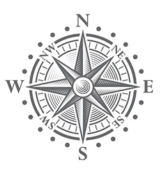 152 Compass rose vector image vector image