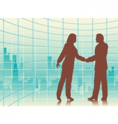 city deal vector image vector image