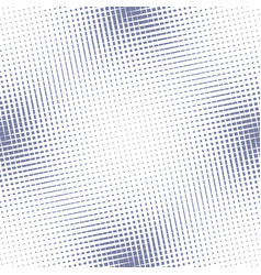 halftone mesh seamless pattern blue and white vector image