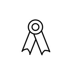 school univercity medal icon vector image