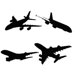 A380 on white background vector
