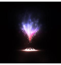 Abstract eps10 creative dynamic magic fire vector