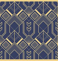 Art deco geometric abstract pattern vector