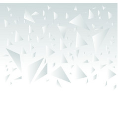 broken glass abstract vector image