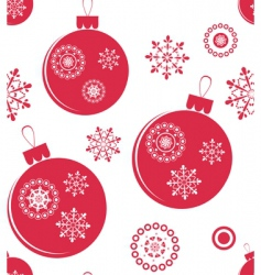 Christmas seamless vector image