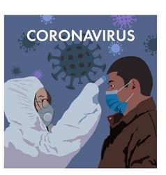 Coronavirus in china novel coronavirus 2019-ncov vector