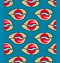 seamless pattern japan vector image