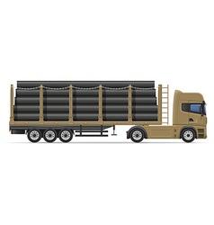 truck semi trailer concept 08 vector image