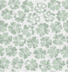 Decorative floral seamless background vector image vector image