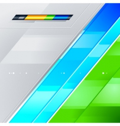 high tech background vector image