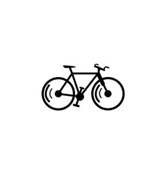 a bike icon element of popular car icon premium vector image
