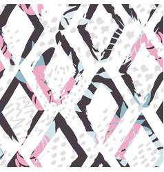 beautiful abstract seamless pattern vector image