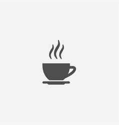 cap tea icon vector image