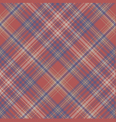 Classic seamless pattern check fabric texture vector