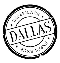 Dallas stamp rubber grunge vector
