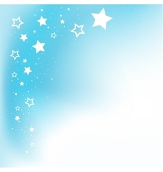 Dream stars background vector