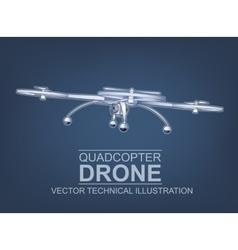 Drone vector image