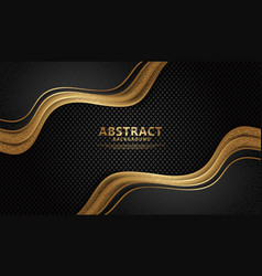 luxury and elegant wave abstract overlap layer vector image
