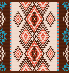 navajo style pattern vector image