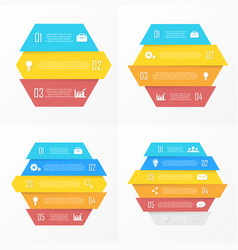 set element for infographic vector image