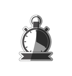 Sport chronometer timer vector