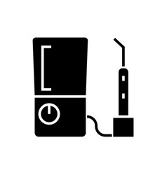 tooth drilling machine icon vector image