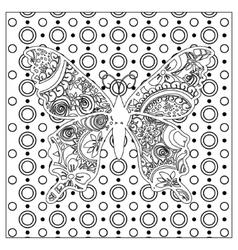 Black mono color vector image vector image