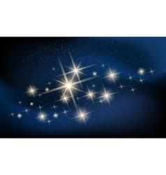 Constellaton and Galaxy vector image