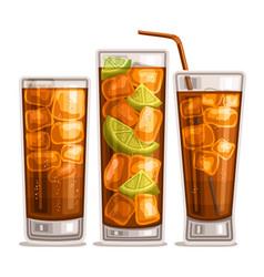 fizzy drinks vector image