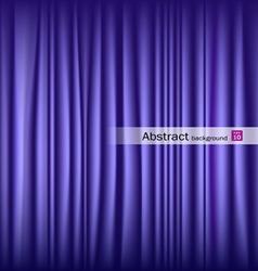 purple theater curtain vector image
