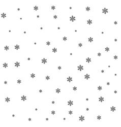Black snow on white background vector