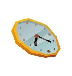 Clock face watch vector